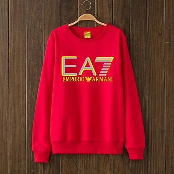 Armani EA7 Woman Men Top Sweater Pullover