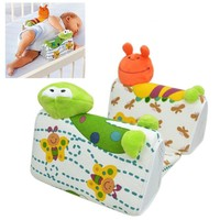 Baby Sleep Positioner Pillow Anti-Roll Infant Sleep Positioner Newborn Toddler Sleep Nursing Pillow Lion Giraffe Frog Baby Toy