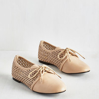 ModCloth Vintage Inspired Willow or Won't You? Flat