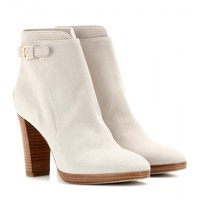 loro piana - wallis suede ankle boots