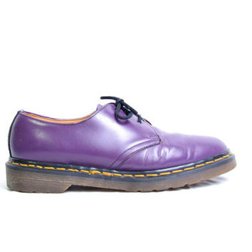 Vintage 90s Dr Martens 1461 Made in England - Size 7.5 UK -