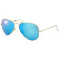 Sun Glasses Aviator Unisex Gold Metal  Outdoor Sports Ray Ban