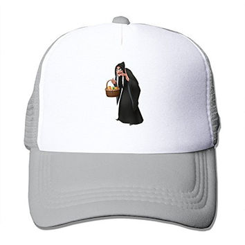 Custom Your Own Adult Unisex The Evil Queen Princess Snow White 100% Nylon Mesh Caps One Size Fits Most Adjustable Trucker Hat