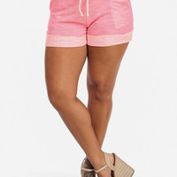 Terry Sweatshorts (Hot Pink)