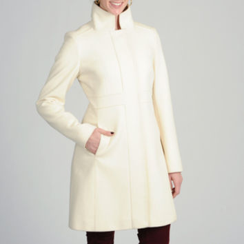 Via Spiga Women's Italian Cashmere-wool Blend Coat | Overstock.com