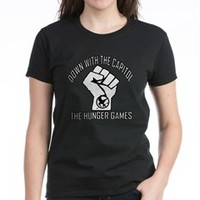Hunger Games:Down With The Capitol T-Shirt> Hunger Games: Down with the Capitol (Version 2)> Filthy Floyd's Nasty Tees