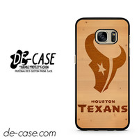 Houston Texans Wood DEAL-5362 Samsung Phonecase Cover For Samsung Galaxy S7 / S7 Edge
