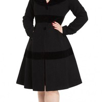 Thora Velvet Trim Jacket | Blame Betty