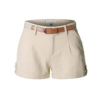 Casual Summer Linen Shorts with Removable Belt (CLEARANCE)