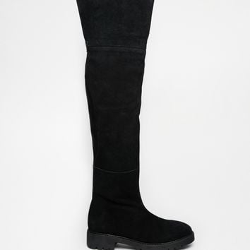 Park Lane Suede Over The Knee Boots