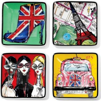 FASHION PASSPORT Fashion Passport Trinket Tray Tableware