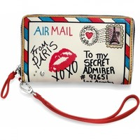Fashionista Air Mail Medium Tech Wallet Medium Wallets