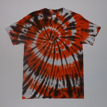 Cleveland Browns Tie Dye Shirt or Tank - (get this made in your favorite sports team colors) Any Size & Style Shirt Available
