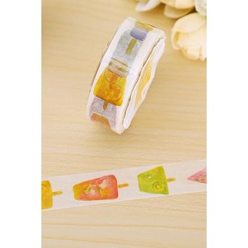 Ice Cream and Popsicles Washi Tape