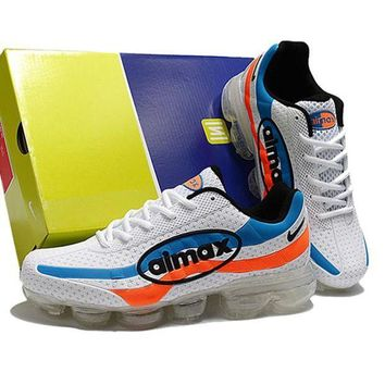NIKE Wave Rider18 Fashionable Men Casual Running Sport Shoes Sneakers White