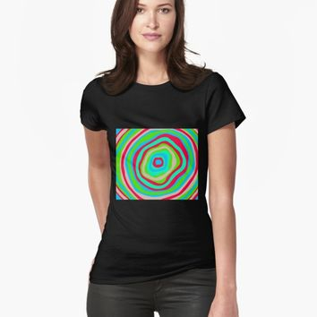 'Hypnosis' T-shirt by VibrantVibe