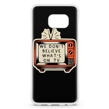 Twenty One Pilots Tattoo Samsung Galaxy S7 Edge Case