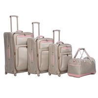 Tommy Bahama Mama 4-piece Spinner Luggage Set   Overstock.com Shopping - The Best Deals on Four-piece Sets