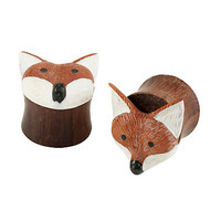 Sono Wood Fox Plug 2 Pack