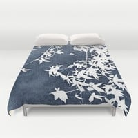 blue Duvet Cover by Ingrid Beddoes | Society6