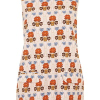 Floral Pocket Front Tunic