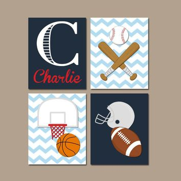 Boys Room Decor Sports On Wanelo