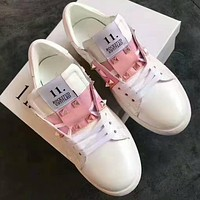 Valentino Woman Men Fashion Casual Sneakers Sport Shoes