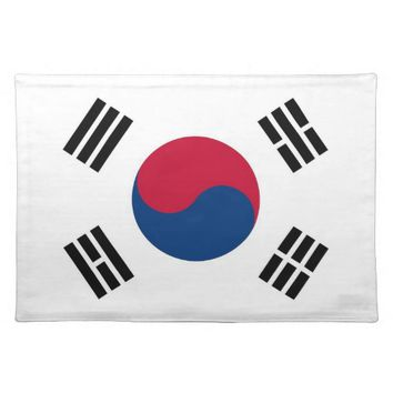 South Korean Flag on MoJo Placemat