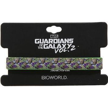 "Licensed cool Marvel Guardians of the Galaxy VOL. 2 BABY GROOT TREE ONE 1/2"" rubber wristband"