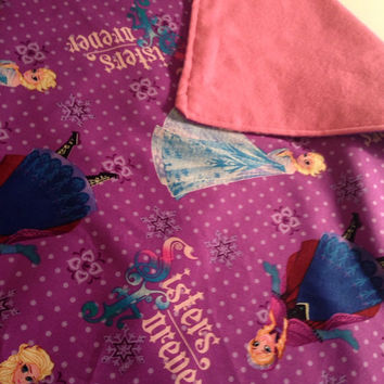 Weighted Blanket, Sensory weighted Blanket, Frozen weighted blanket, Sensory calming blanket, Kids weighted blanket, Girls weighted blanket
