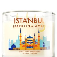 3-Wick Candle Istanbul Sparkling Amber