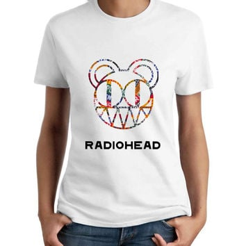 Radiohead Bear Logo Woman T-Shirt