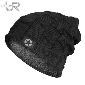 Men's Fleece Lined Thick Stretch Fit Beanie