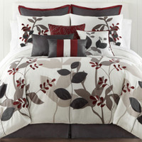 jcpenney | Home Expressions™ Marissa Floral 10-pc. Comforter Set