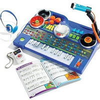 Baby,Toddler Musical Developmental Toy KidiJamz Record and Learn Studio w Mic