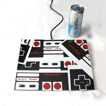 Art Nintendo Controller Mix Giant Coaster Table & by blueorder