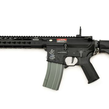 ARES OCTARMS X AMOEBA M4-KM12 AIRSOFT ASSAULT RIFLE, BLACK
