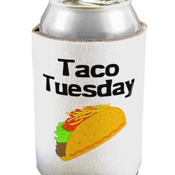 Taco Tuesday Design Can / Bottle Insulator Coolers by TooLoud