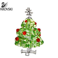 Swarovski Crystal Figurine Christmas Ornament CHRISTMAS TREE #904990