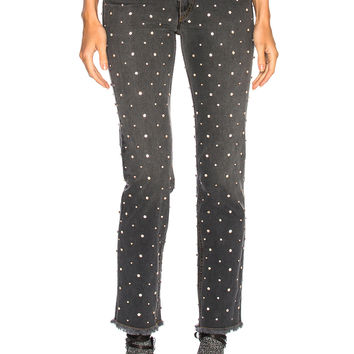 Isabel Marant Ulano Jeans in Grey & Light Pink | FWRD