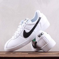 HCXX N306 Nike Bruin QS Low Sports Casual Skate Shoes White