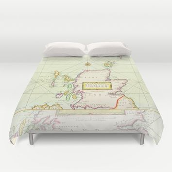 Land of the free Duvet Cover by anipani