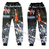 Jordan High quality jogger pants 'Fire Red' Dunk from Kno Idea Vintage & Custom