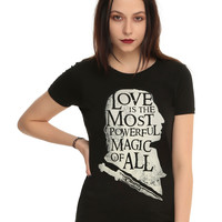 Once Upon A Time Rumplestiltskin Love Quote Girls T-Shirt
