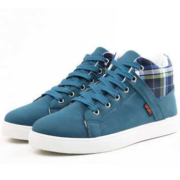 Mens Mid Top Casual Shoes