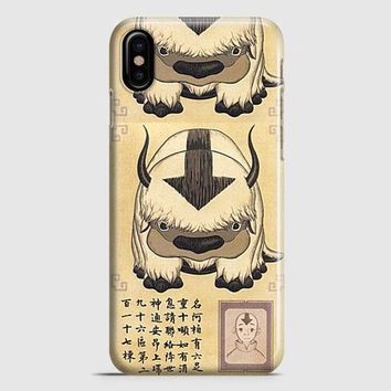 Appa Avatar The Last Airbender iPhone X Case