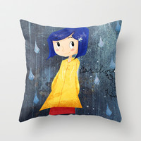Coraline Throw Pillow by Francesca B.