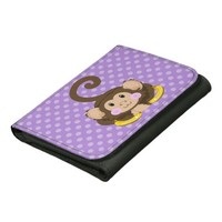 Cute Monkey Wallet