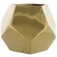 Medium Gold Geometric Pencil Holder | Hobby Lobby