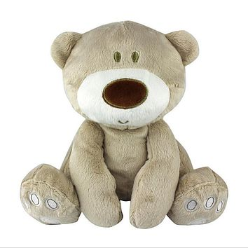 High-quality baby Lovely bear toys stuffed dolls cute animal plush education toys for children Gift